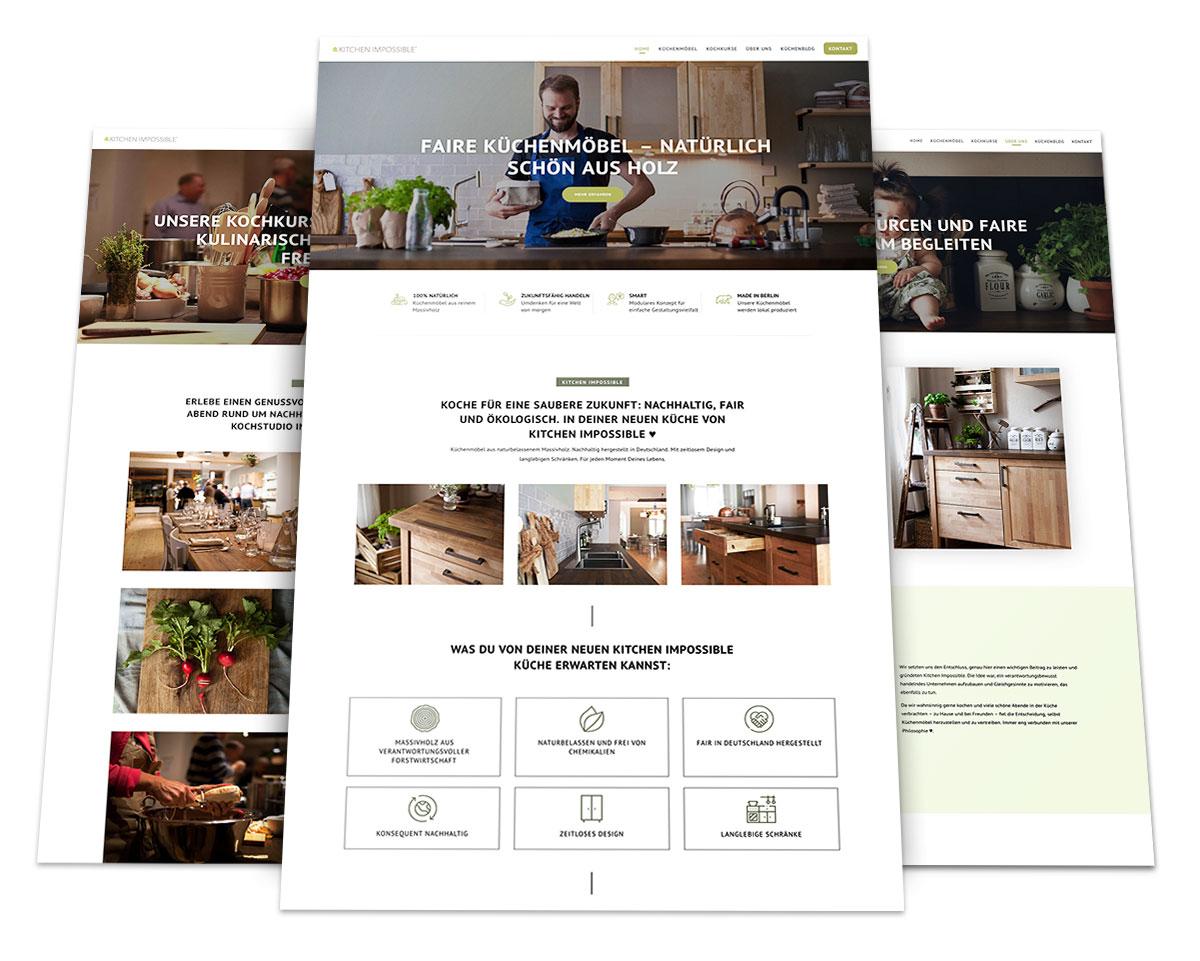 Webdesign Portfolio von 717media: Kitchen Impossible