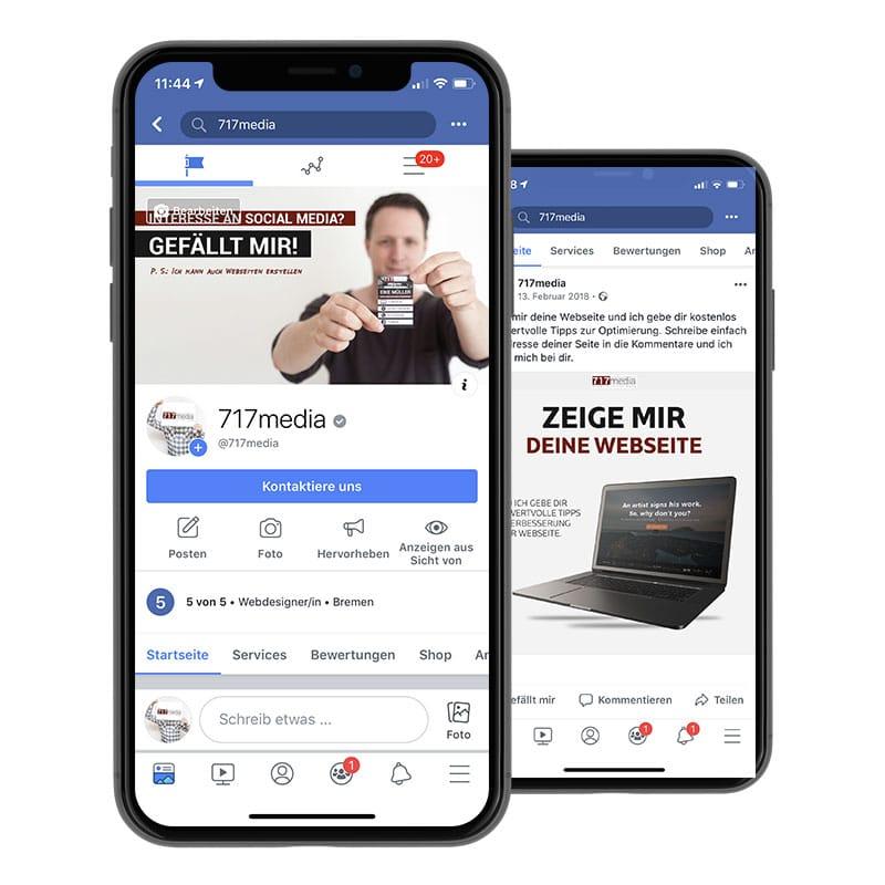 Facebook Workshop mit 717media aus Bremen