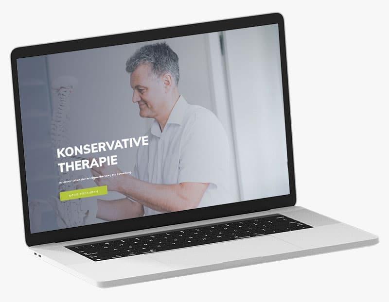 Webdesign Portfolio von 717media: Dr. med. Stefan Schäfer