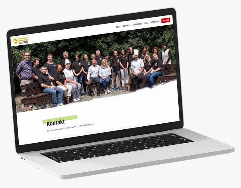 Webdesign Portfolio von 717media: Ambulanter Pflegedienst Weyhe