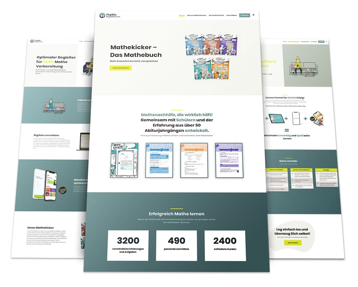 Webdesign Portfolio von 717media: FlipEdu