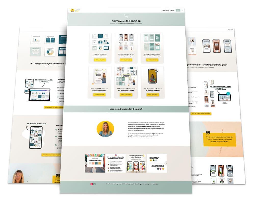 Webdesign Portfolio von 717media: Kathy Ursinus