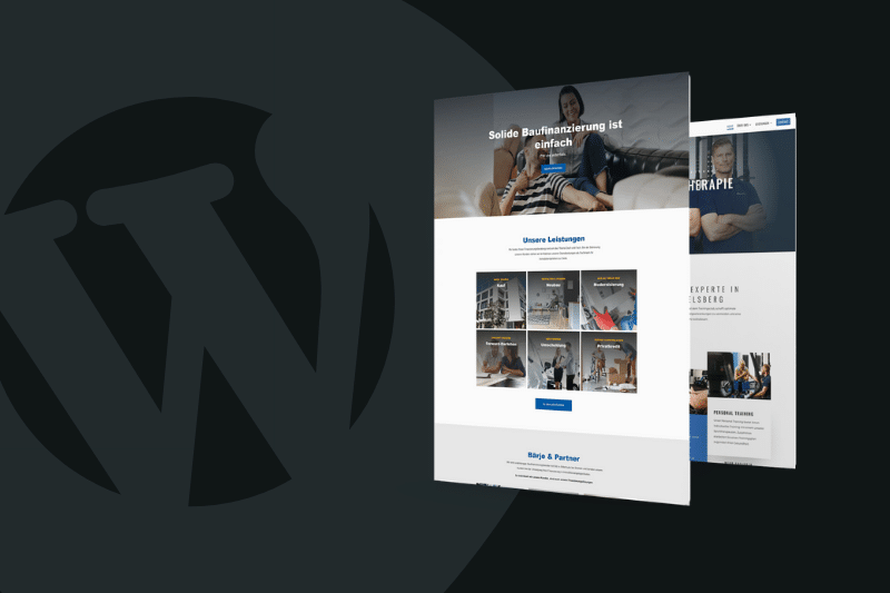 Neue WordPress Website mit dem Divi Theme