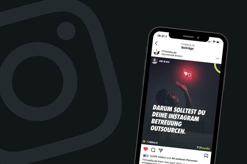 Instagram Betreuung in Agentur outsourcen